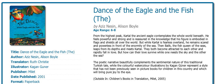 Dance of the Eagle and the Fish review