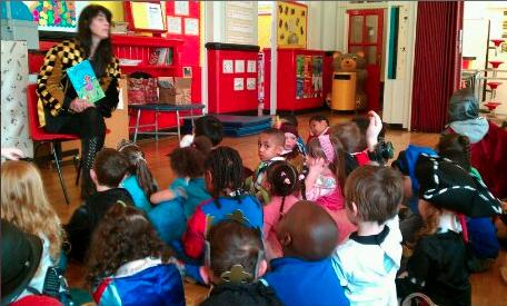 World book day school visit Blackley 20.04.31