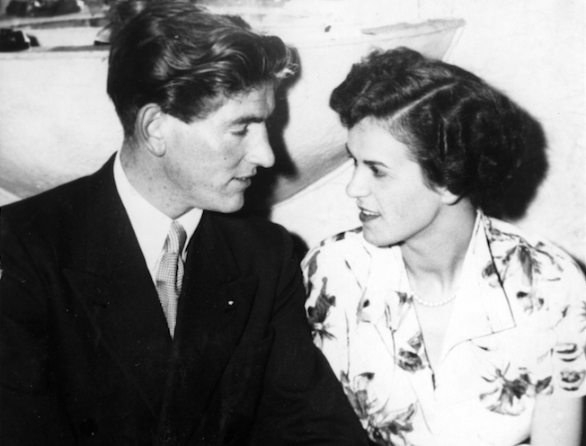 Jean and Terry Boyle newly married 1954